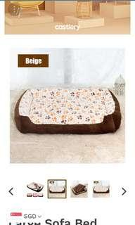 Large Soft Bed for dog - new