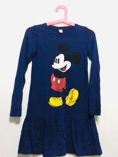 Uniqlo Mickey Dress