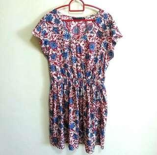 👉👉INstock Floral dress uk12 uk14 uk16 plus size new look