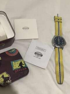 Mens Fossil Retro Traveller Watch