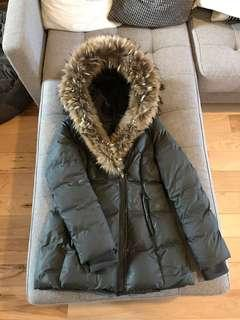 Mackage size M adali down winter fur coat jacket