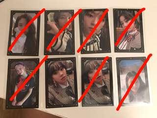 Twice The Year of Yes photocards