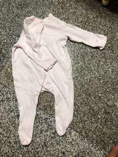 Mothercare baby romper - new born up to 4.5kg