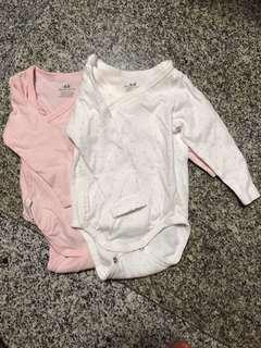 H&M baby romper - up to 4mths