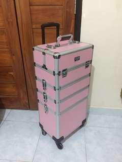Makeup caddy trolley