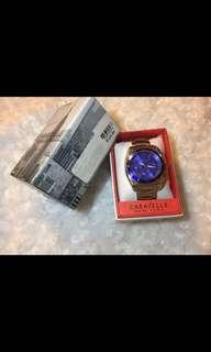 (Re-priced from 3,500)Caravelle New York by Bulova metal mens watch
