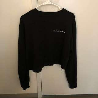 Brandy Melville uh huh honey sweatshirt