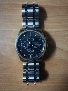 Tissot Couturier Chronograph Mechanical Watch