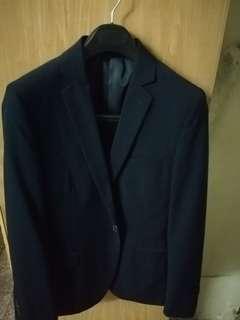 G2000 suit slim fit (light black)