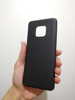 (全新)華為Mate20 Pro - 黑色 電話軟殼 機套