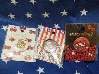 Sanrio hello kitty 襟章 pin