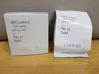 #BEAUTY Laneige BB Cushion Anti-aging No.23 Sand 5g