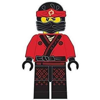 Lego Ninjago Red Ninja Keychain 忍者旋風傳 紅忍者 鎖匙扣
