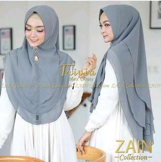 Khimar Travia 3 layer