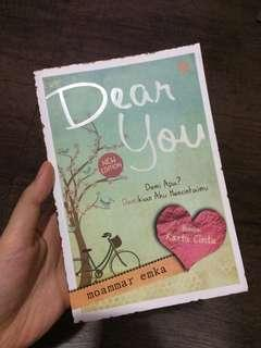 Novel Dear You by Moammar Emka