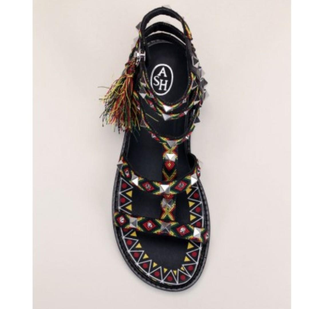 意牌 Ash 型格 異國風情 涼鞋 IT size 38 & 39 原價$2400, 特價發售$1000