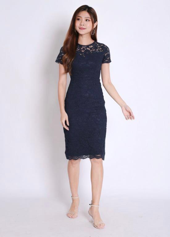 1a23140dd964 🌸 Jolie Lace Sweetheart Dress