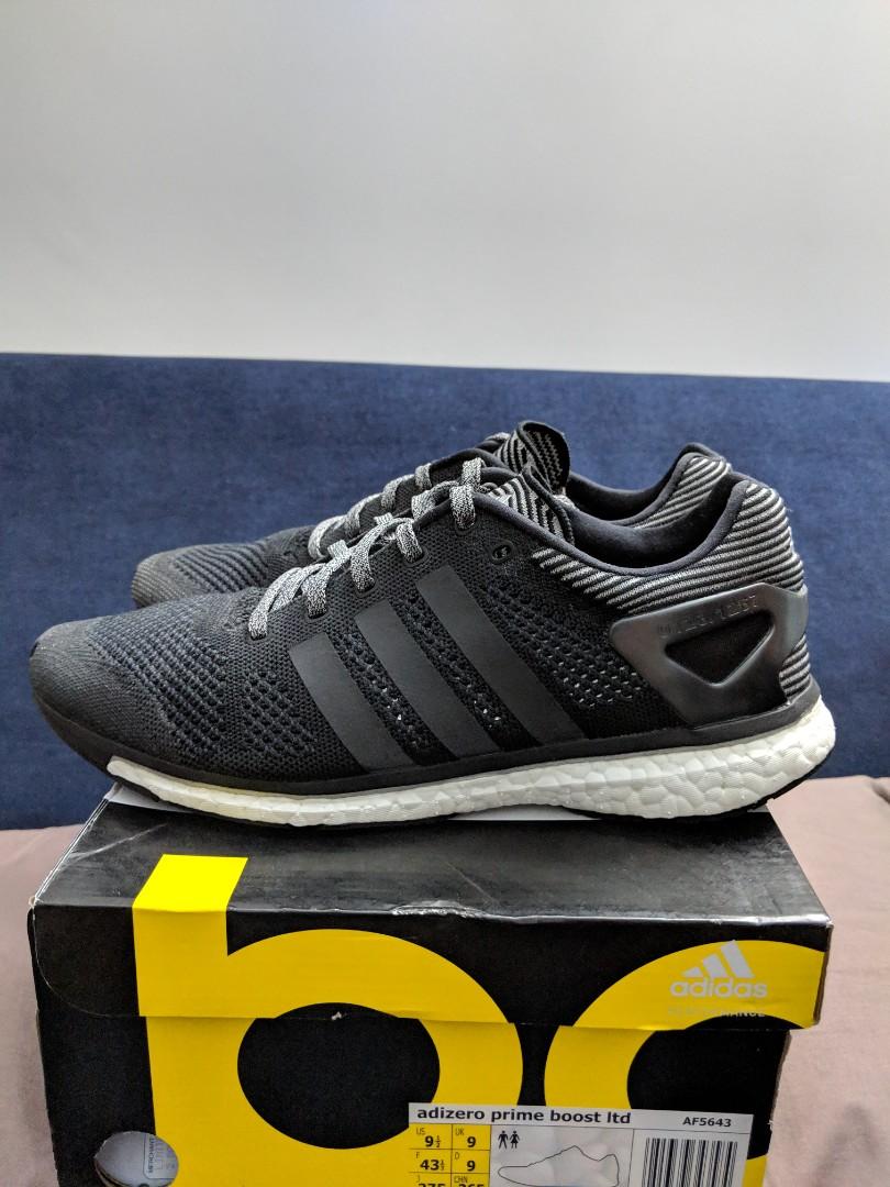 closer at better sale retailer Adidas Consortium Adizero Primeknit Boost LTD Reflective (pair no 0123)  9.5US 9UK
