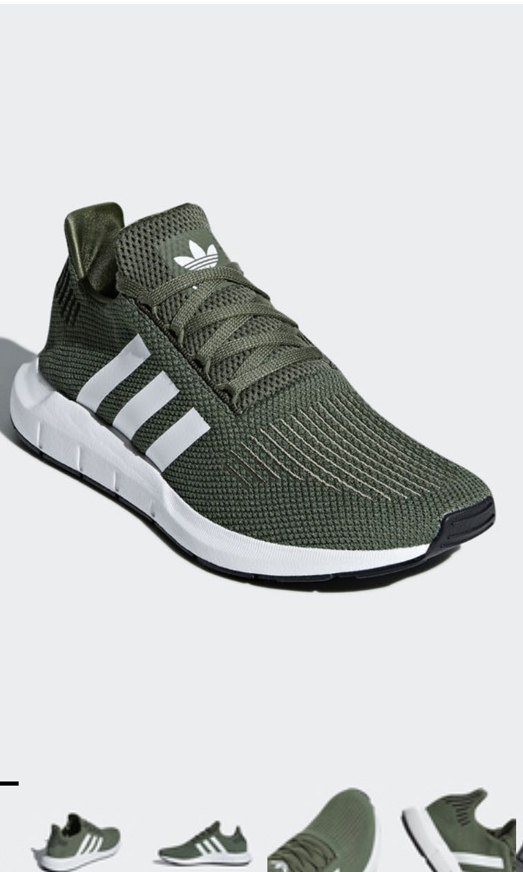 91e0169cc4571 Adidas swift run shoes (base green)