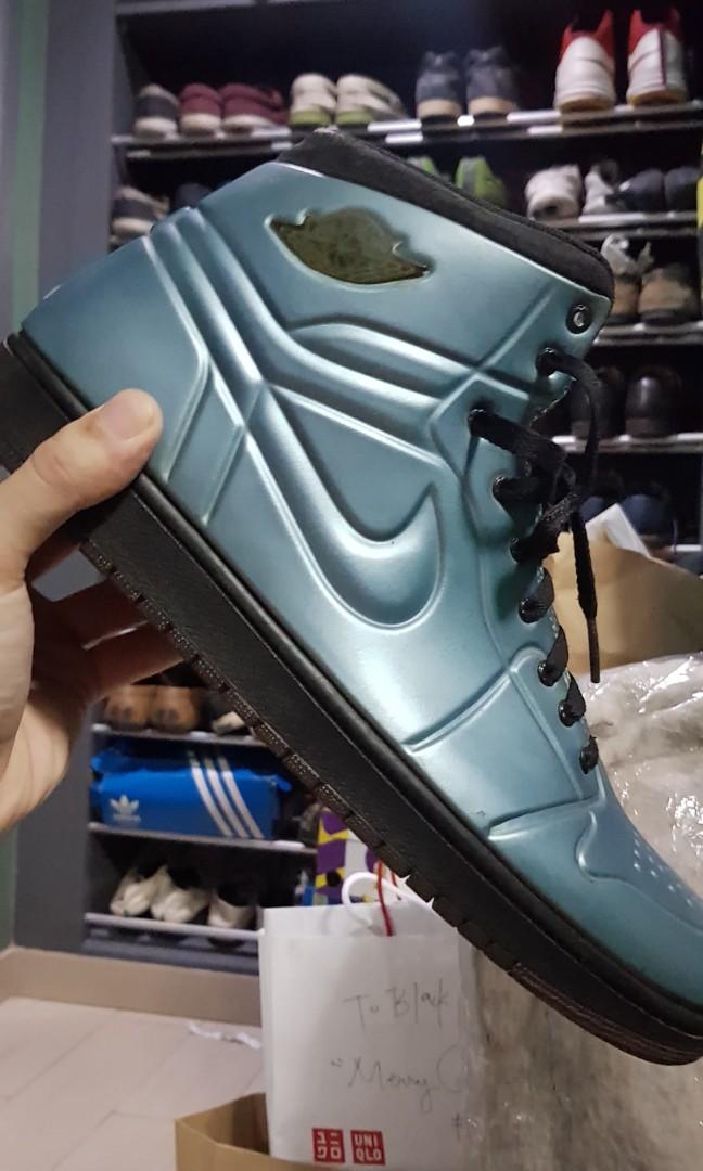 buy popular 69a09 f08ac Air Jordan 1 Anodized Blue, Men s Fashion, Footwear, Sneakers on ...