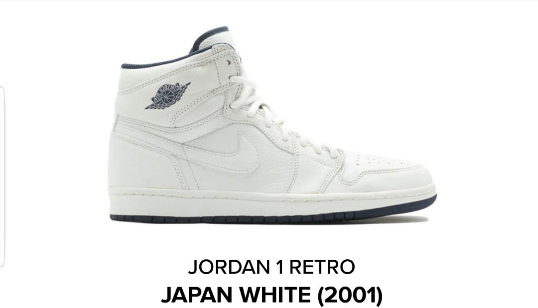 ab210d788357 Air Jordan 1 Retro - Japan White 2001
