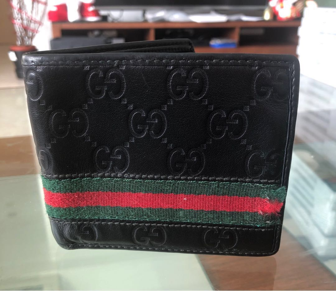 d5081799ef81 Authentic Gucci Men's Wallet, Luxury, Bags & Wallets, Wallets on ...