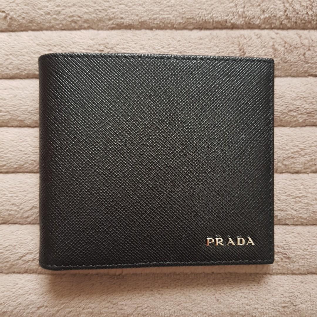 Authentic Prada Men wallet Bifold 5bf2e2638b