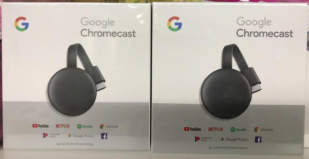 BNIB Google Chromecast 3  Local SG 3 pin plug stock