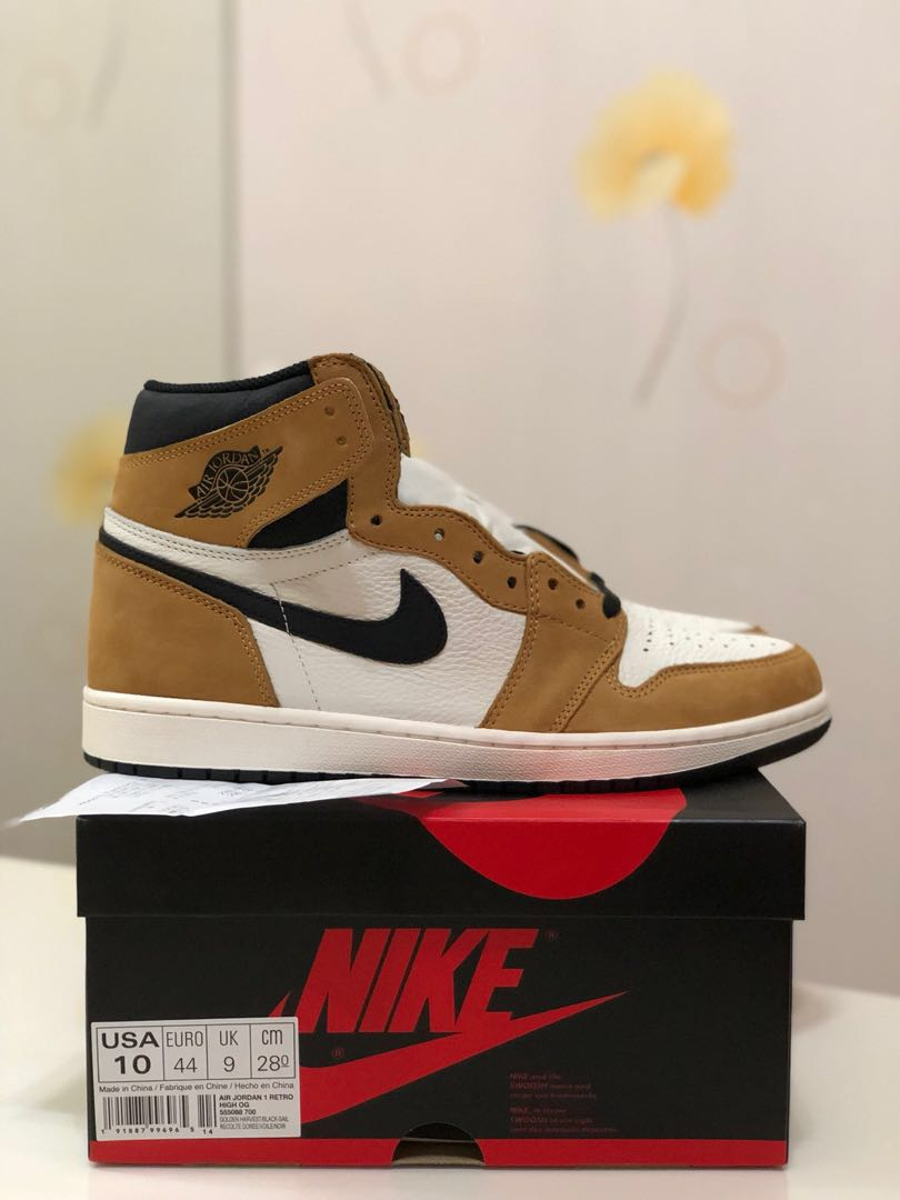 a3d37d245a00a2 BNIB Nike Air Jordan 1 Retro High OG Rookie Of The Year ROTY US10 ...