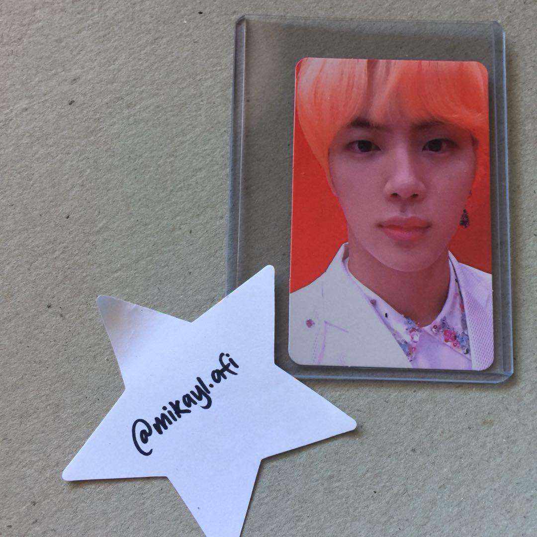 BTS (방탄소년단) JIN LOVE YOURSELF: ANSWER 'S' PHOTOCARD