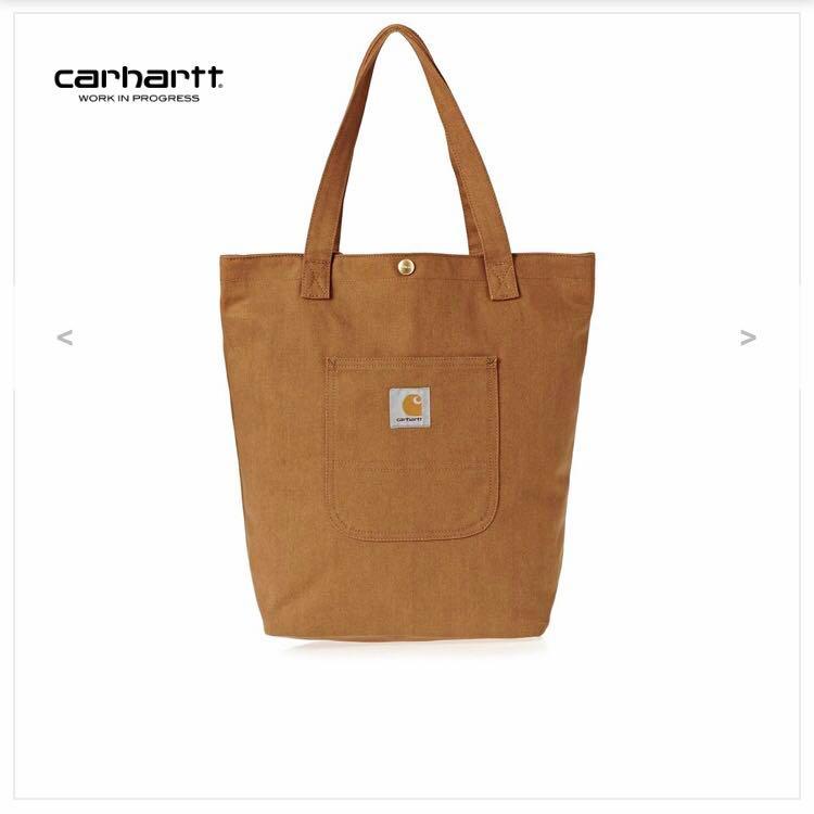 56aa17ff680 Carhartt WIP Brown Canvas Tote Bag, Women's Fashion, Bags & Wallets ...