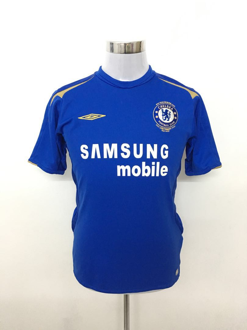 outlet store 6d94c 26ac6 Chelsea Jersey UMBRO 2005