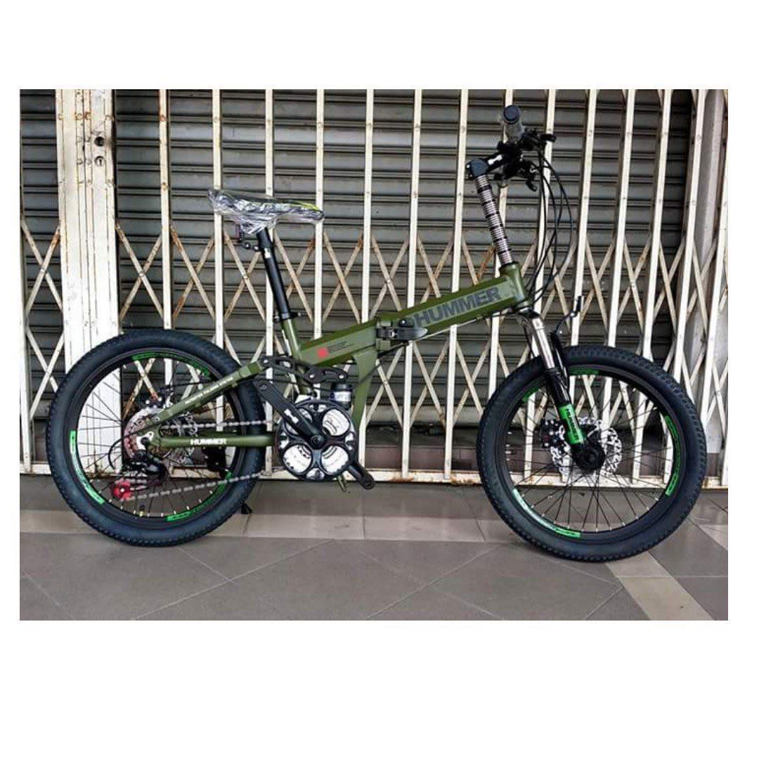ce8b8f5259f CHIN Folding Bike 20er Full Suspension HUMMER BICYCLE BASIKAL, Sports,  Bicycles on Carousell