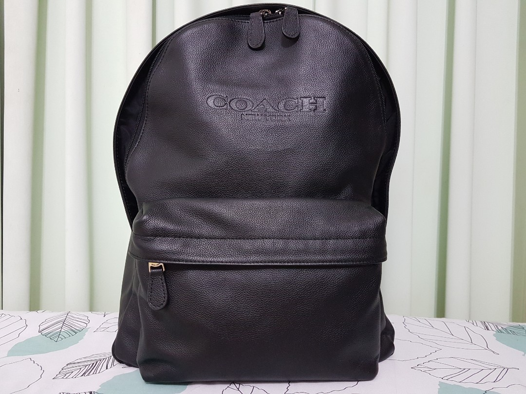 3a098d4bb4ad Coach Charles Backpack F54786 (Black), Men's Fashion, Bags & Wallets,  Backpacks on Carousell