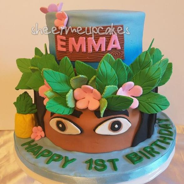 Custom Cake Moana Character Cakes Food Drinks Baked Goods On