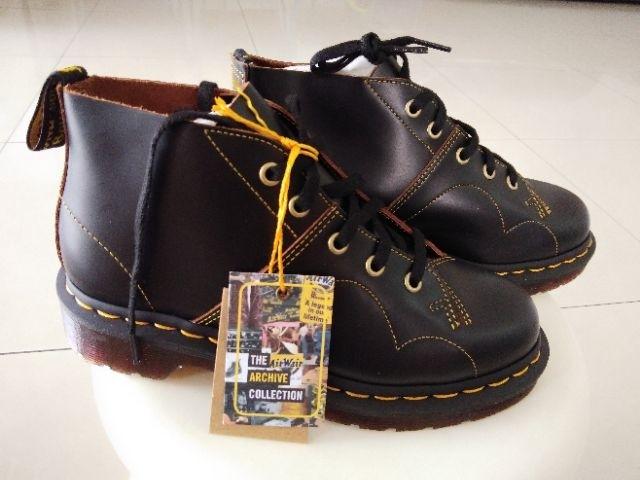 c1632793f6a Dr Martens The Original icon Church Monkey Boots