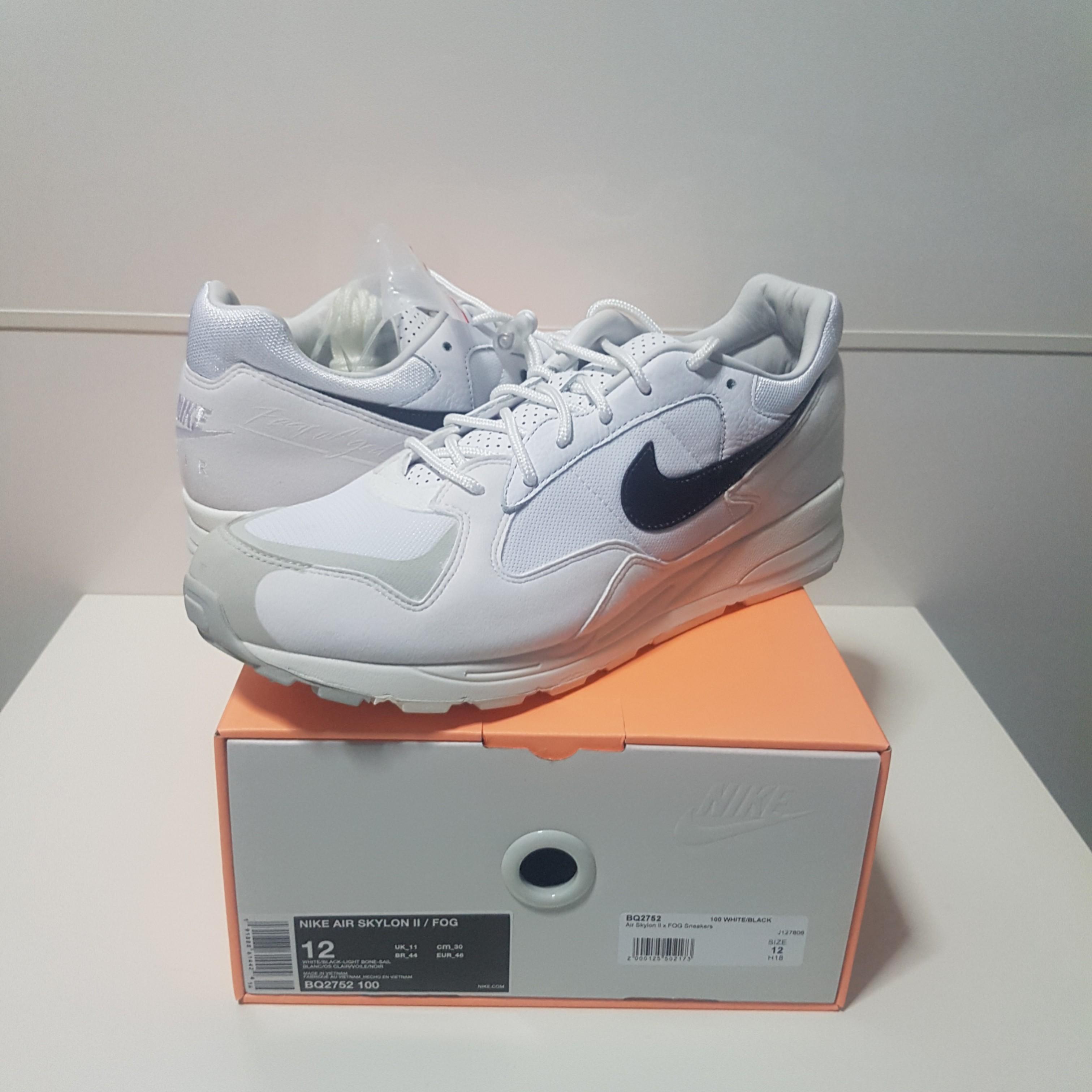 low priced a7618 cca80 Fear Of God x Nike Air Skylon II (W), Men s Fashion, Footwear, Sneakers on  Carousell