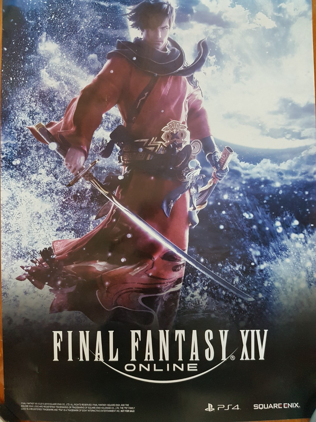 Final Fantasy XIV posters QYOP, Toys & Games, Others on