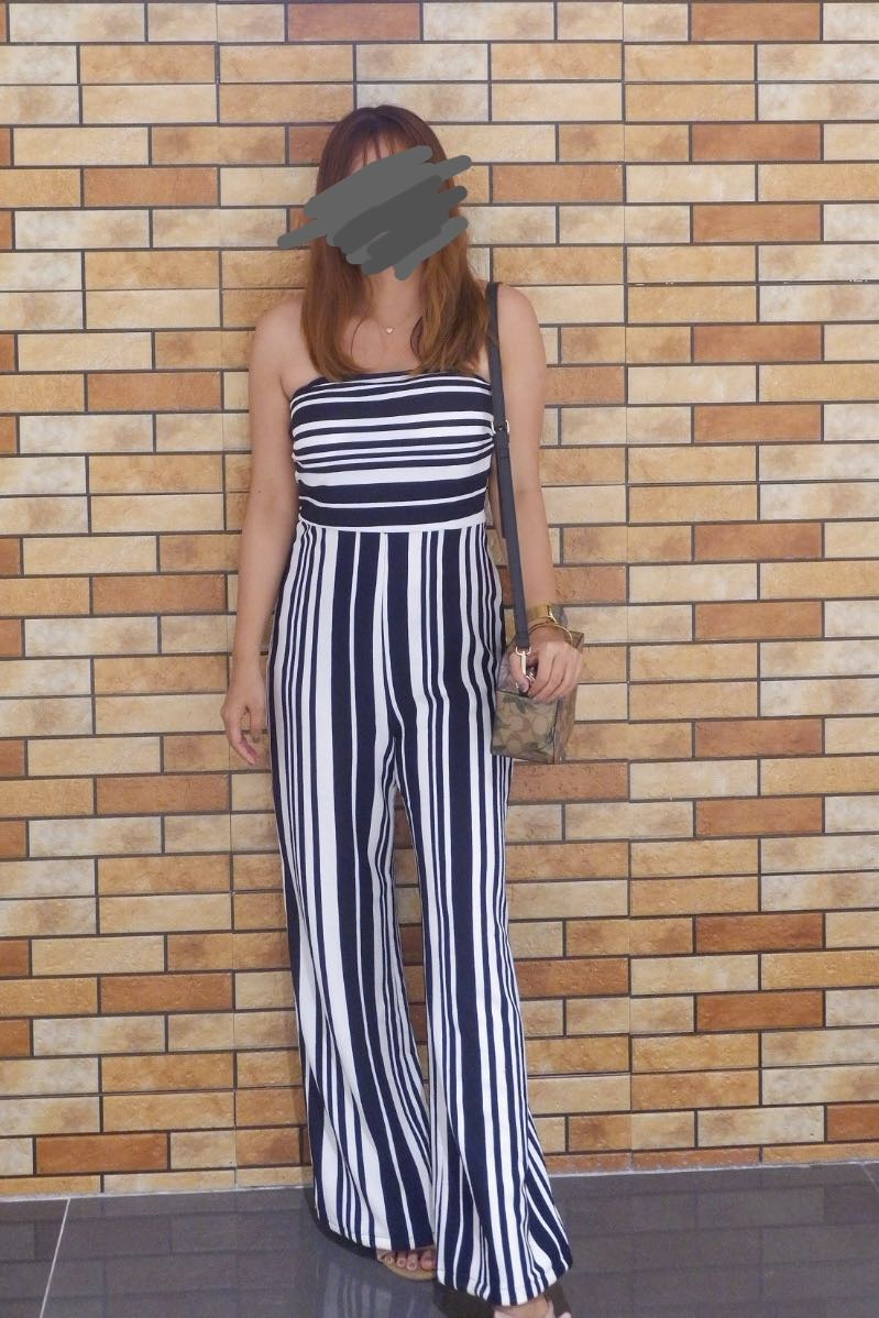 fa770f3a702 Forever 21 tube jumpsuit
