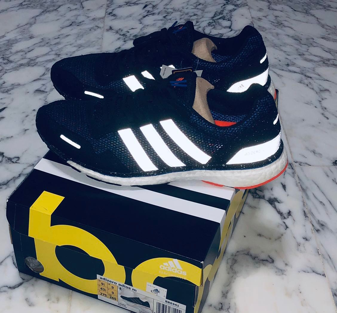 huge selection of e156b c0bbe Genuine  New with Tags Adidas Adizero 3.0 Boost, Men s Fashion ...