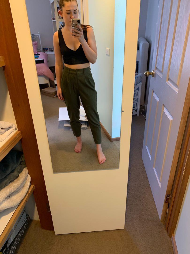 Green pants - workwear