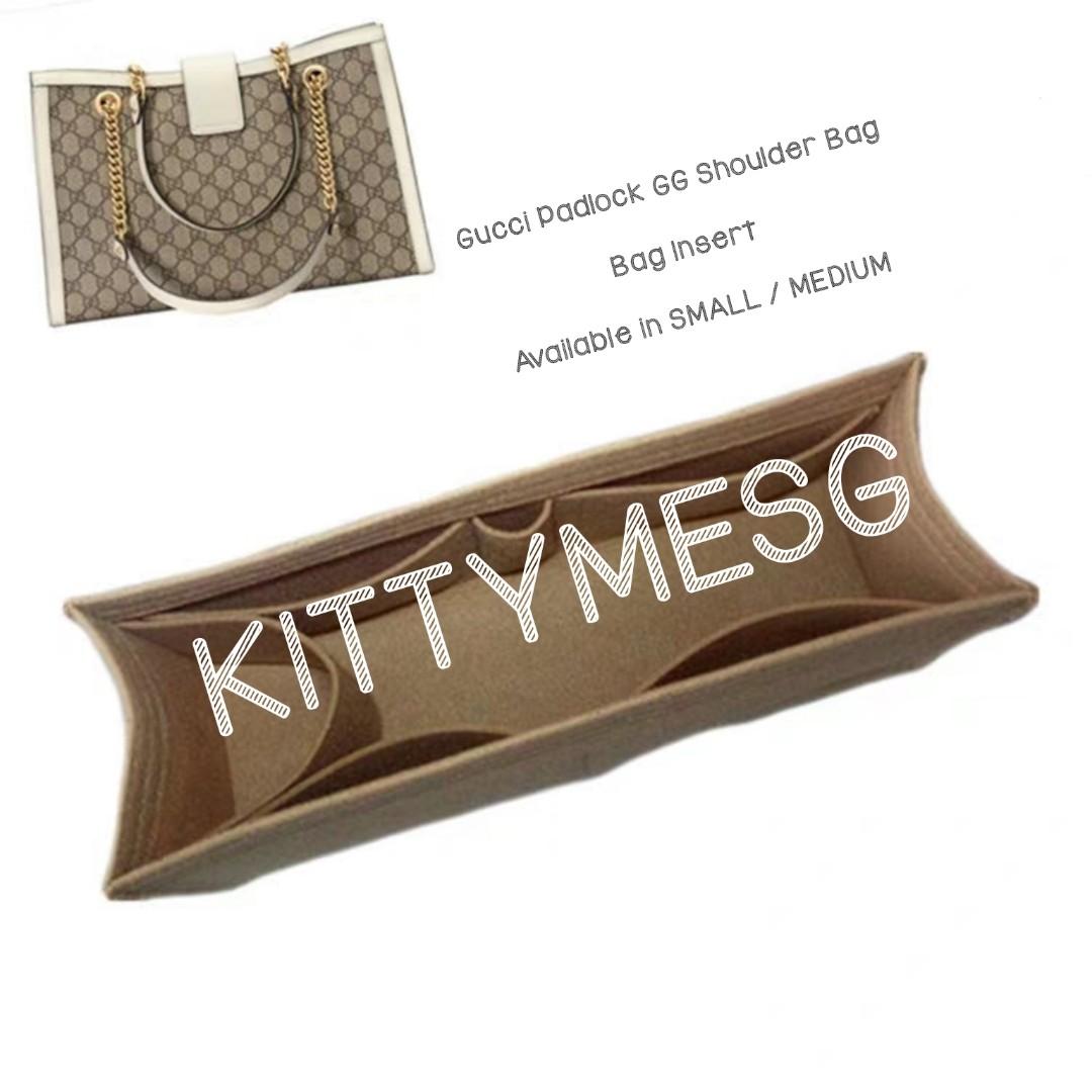 e7c0fb3d2e8c12 Gucci Padlock GG Shoulder Bag Insert, Luxury, Bags & Wallets, Others ...