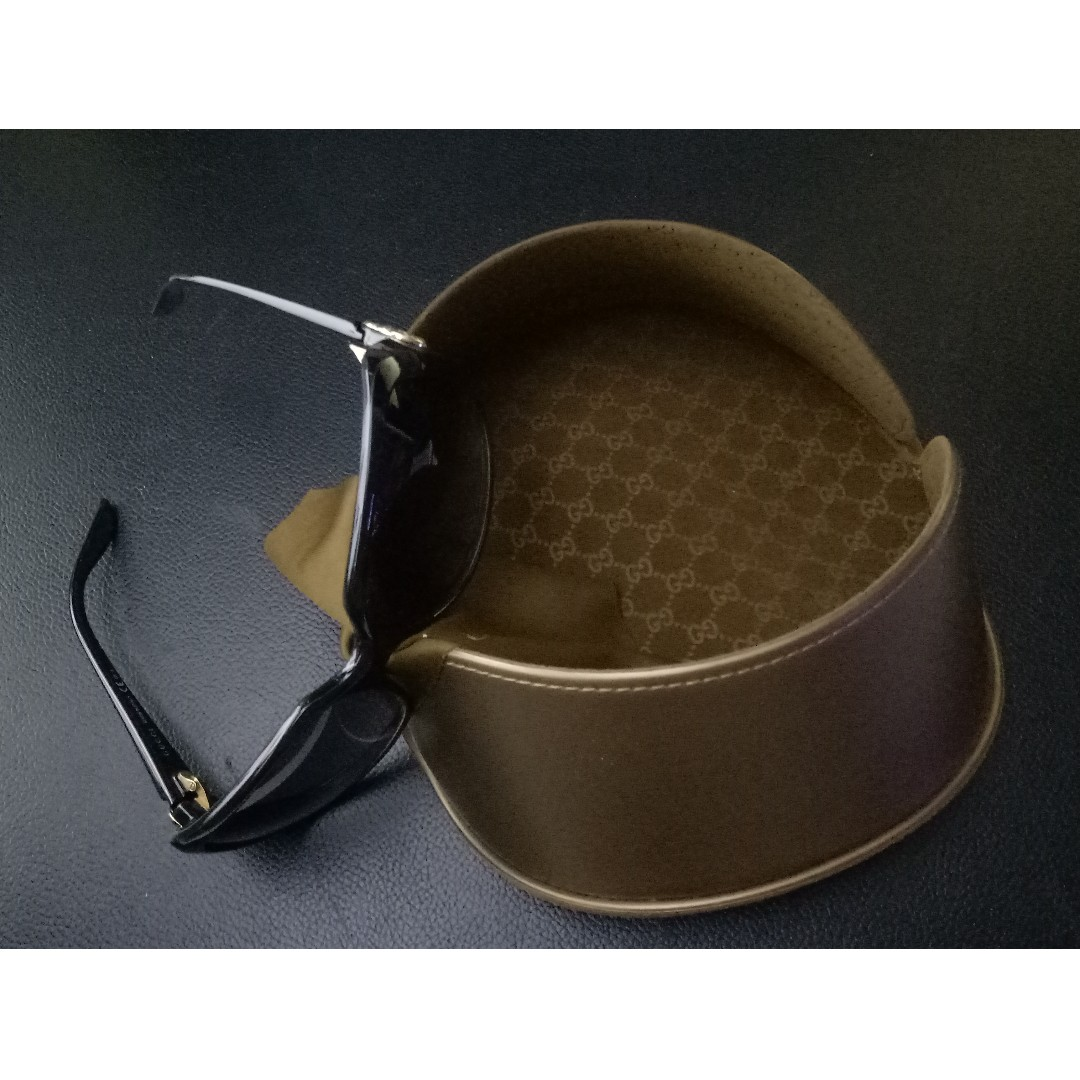 27ac7753284 Gucci Sunglasses Shades - Gucci GG 3166 S D28 Shiny Black (Currently ...