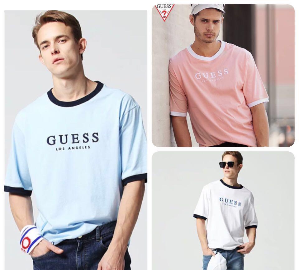 3314a2a4de8c Guess X Generation Los Angeles T Shirt (Rare), Men's Fashion ...