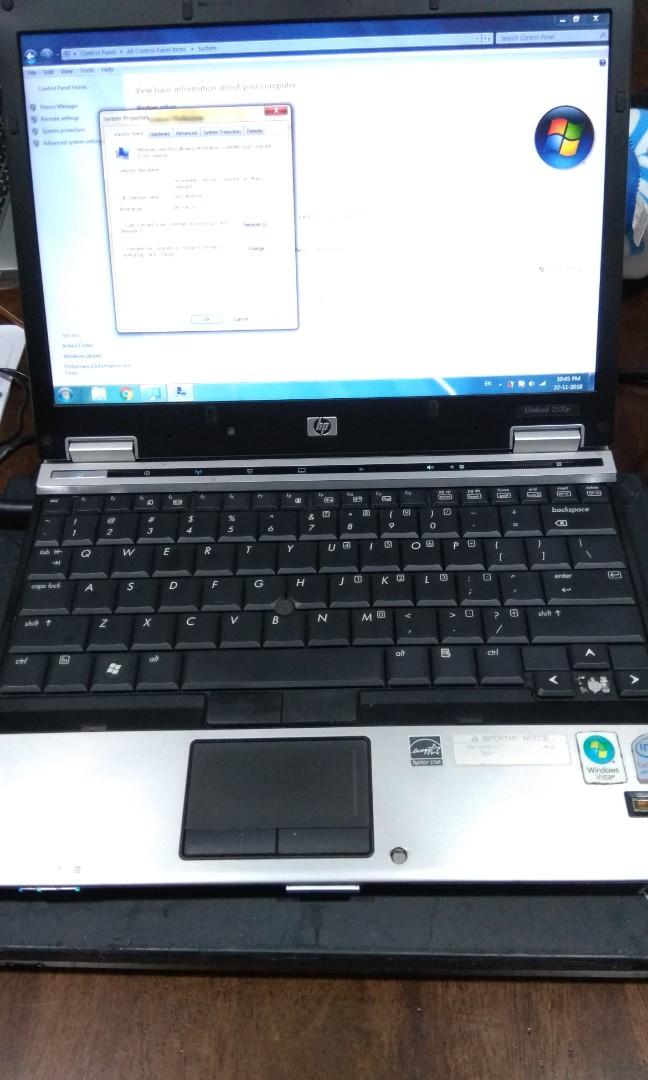 HP Elitebook light weight laptop