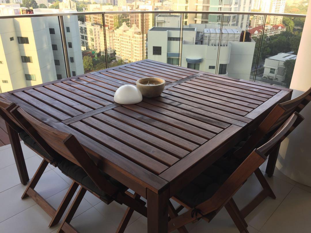 Ikea Applaro Outdoor Furniture Furniture Others On Carousell