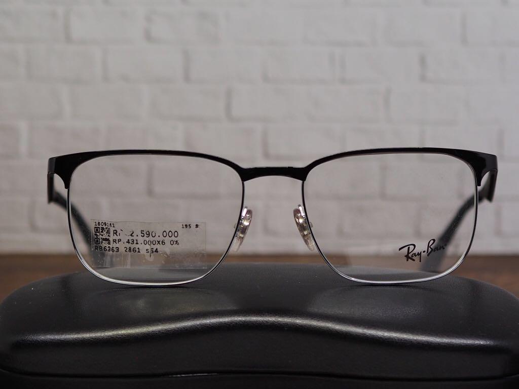 bc455bb4a3 Kacamata frame baca rayban ray ban RB6363 new fullset original ...