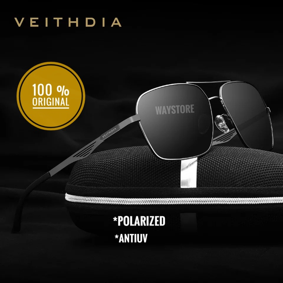 kacamata ORIGINAL Polarized anti silau UV protection DESIGN BRAND VEITHDIA  2459 4b41e4c427