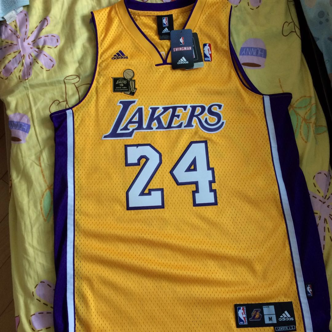 b8c8c17e0dd Kobe Bryant NBA Champion Jersey LA Lakers, Men's Fashion, Men's Tops ...