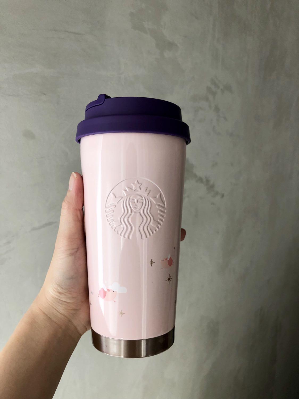 9b0d9be2834 Korea Starbucks 2019 New Year Collection Tumbler, Kitchen & Appliances on  Carousell